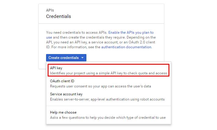 Obtaining Google API Key - InfiNet Wireless: Technical Documentation