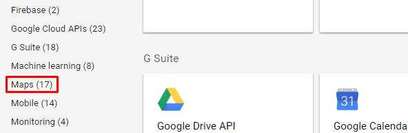 Obtaining Google API Key - InfiNet Wireless: Technical